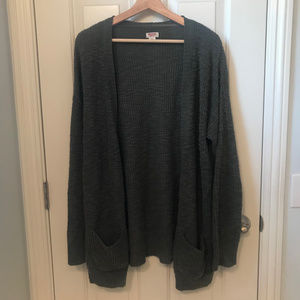 Mossimo Supply Co. Open Front Cardigan Sweater